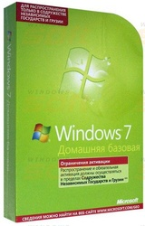Программное обеспечение: Microsoft Windows 7 Home Basic,  Rus